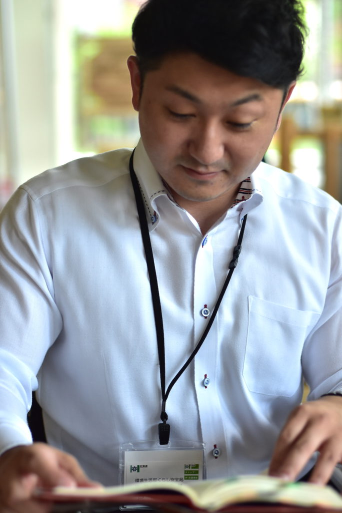 ドラッカー本を読む戸田さん