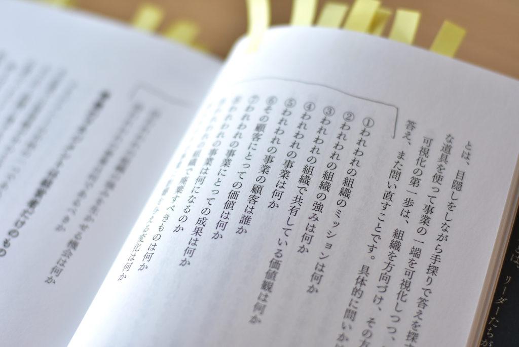 マネジメントに必要な12の問いページ
